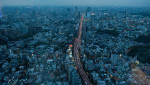 Tokio, Japonia, autor: Noriko Hayashi. Kategoria: Globalny krajobraz