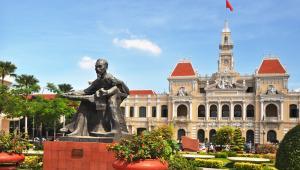 Ho Chi Minh City, Wietnam.
