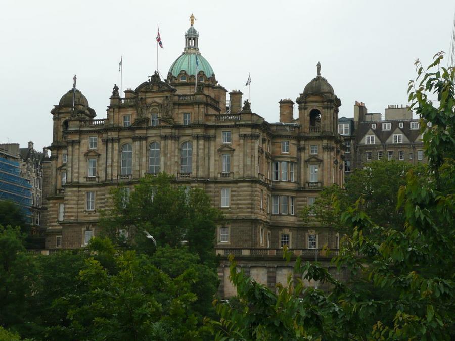 Bank of Scotland w Edynburgu
