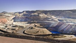 Wydobycie miedzi w regionie Coquimbo w Chile.