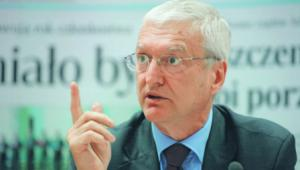 Profesor Michał Kleiber, prezes Polskiej Akademii Nauk