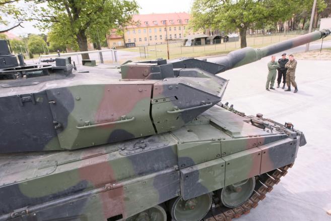 Leopard 2A5 dostarczony do 34. Brygady Kawalerii Pancernej z Żagania  (9)