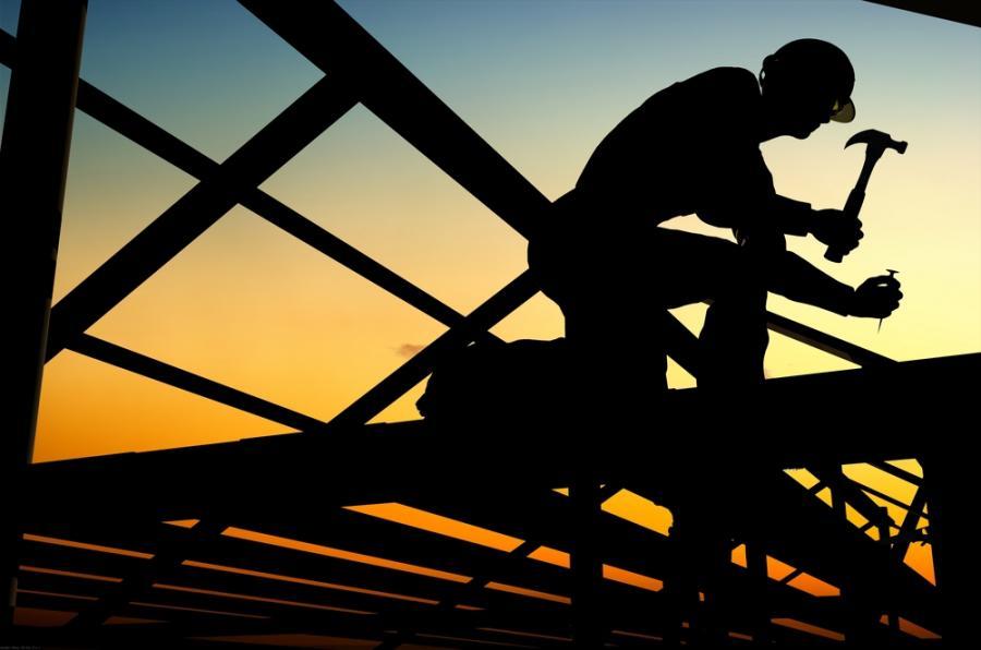 pracownik, praca, budowa, budowlaniec