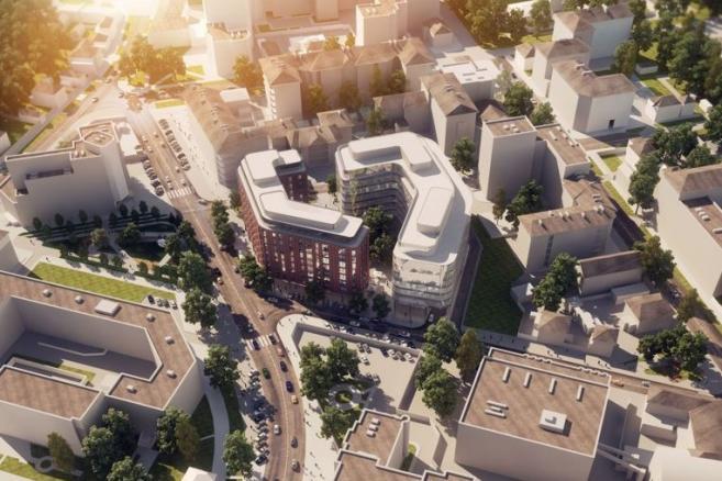 Kompleks biurowo - apartamentowy w Rosji, materiały prasowe Unibep