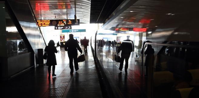 Stacja metra w Pekinie