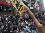 """""""Cichy marsz o sprawiedliwość"""". W Hongkongu trwają protesty prawników"""