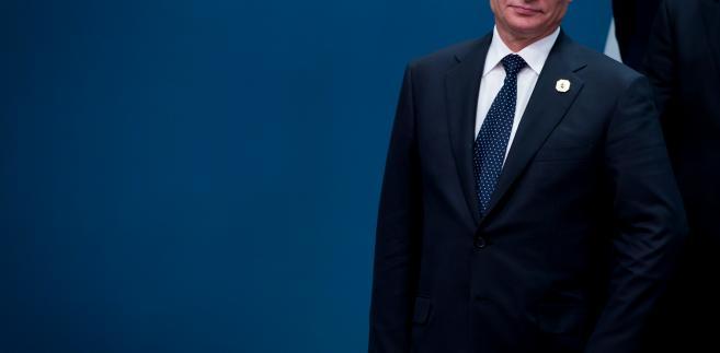 Prezydent Rosji Władimir Putin podczas szczytu G20 w australijskim Brisbane, 15.11.2014, Australia.