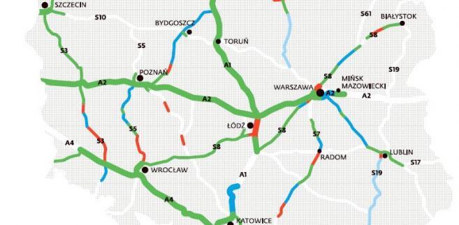 Nowa Polska Mapa Drogowa Zobacz Jakie Trasy Powstana W
