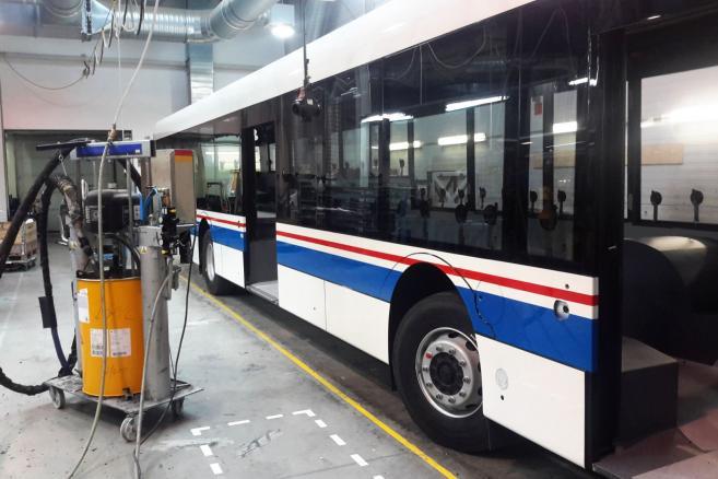Fabryka autobusów Solaris w Bolechowie (2)
