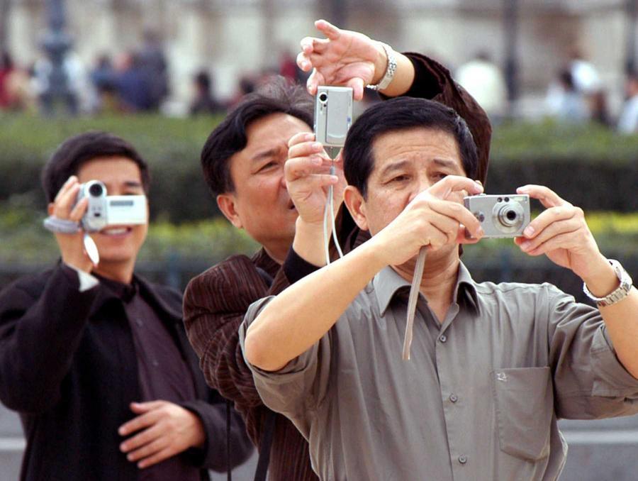 Turyści z Chin