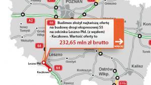 S5 - odcinek Leszno Płd - Kaczkowo