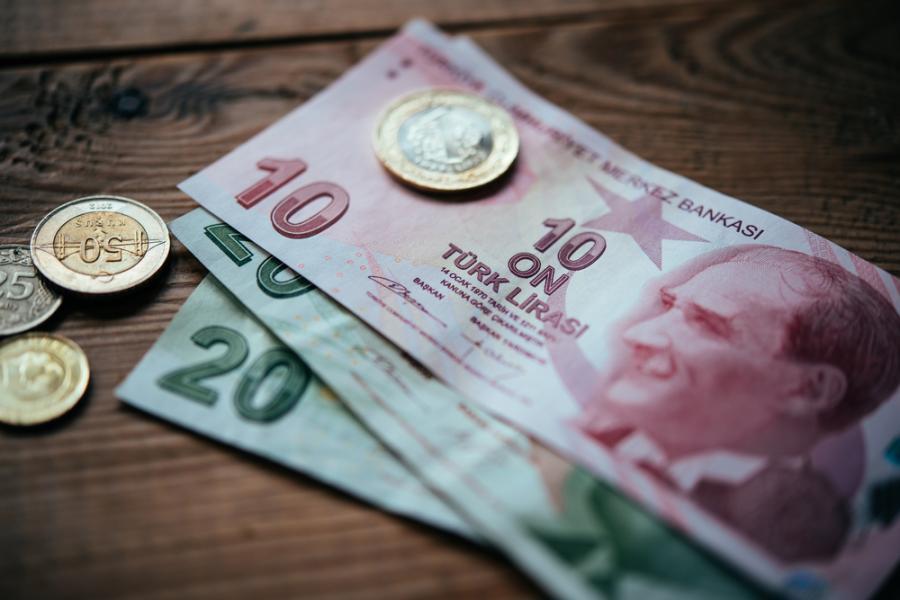 Turecka waluta lira