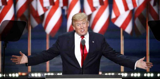 Donald Trump EPA/SHAWN THEW Dostawca: PAP/EPA