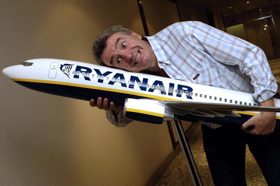 Szef Ryanair Michael OLeary