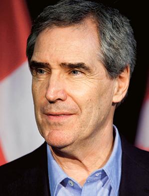 Michael Grant Ignatieff pisarz, historyk oraz polityk kanadyjski, w latach 2008–2011 lider Liberalnej Partii Kanady. Obecnie rektor Uniwersytetu Środkowoeuropejskiego w Budapeszcie fot. Wikimedia