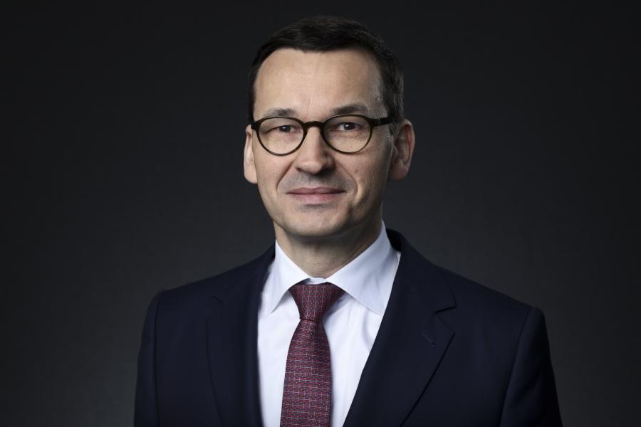 Mateusz Morawiecki w czasie Światowego Forum Ekonomicznego w Davos, Szwajcaria, 24.01.2018 r.