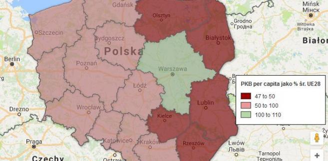 Najbogatsze I Najbiedniejsze Regiony W Ue Tylko Jedno Polskie