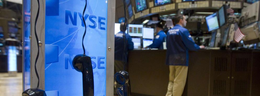 Nowojorska giełda New York Stock Exchange NYSE.