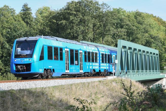 Alstom - Coradia iLint - Pierwszy na świecie pociąg napędzany wodorem