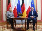 """""""Rysy są nadal widoczne"""". Niemiecka prasa ocenia wizytę kanclerz Merkel w Warszawie"""