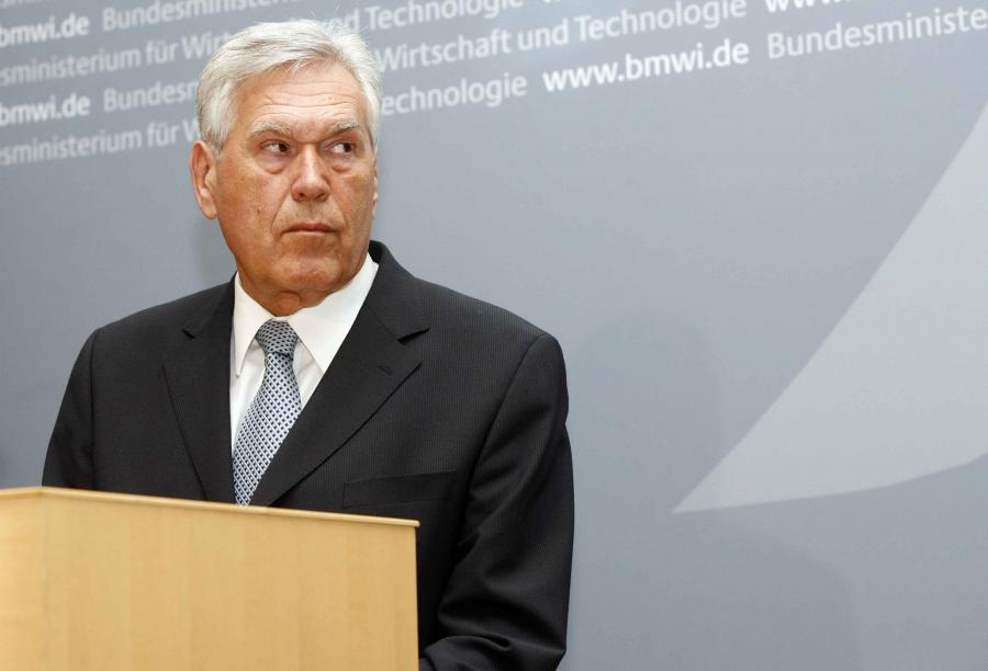 Michael Glos, niemiecki minister gospodarki. Fot. Bloomberg