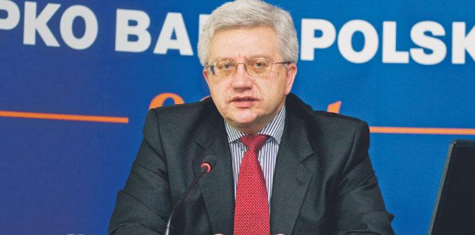 Jerzy Pruski, prezes największego polskiego banku Fot. Wojciech Górski