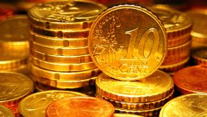 Monety euro, fot. isak55
