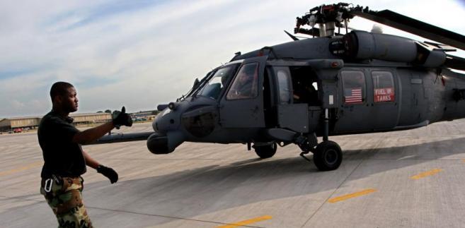 Śmigłowiec Black Hawk na wyposażeniu amerykańskiej armii.