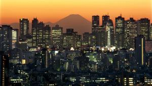 Panorama Tokio, fot. Kimimasa Mayama/Bloomberg