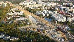 Budowa drogi ekspresowej S8 w Konotopie. Źródło: Materiały prasowe Mostostal Warszawa