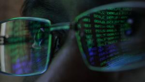 Odbicie wyników giełdowych w okularach