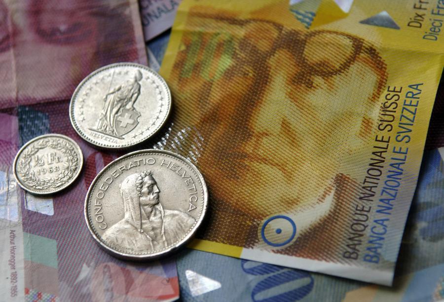 frank szwajcarski. Fot. Bloomberg