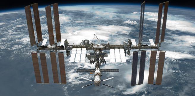Międzynarodowa Stacja Kosmiczna (ISS), źródło: Wikipedia Commons